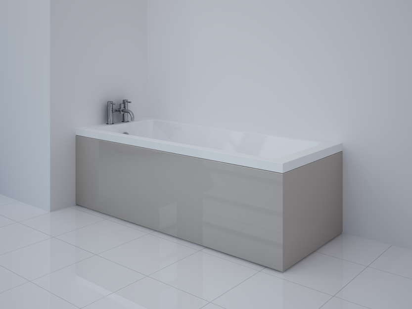 Latte Gloss Bath Panel